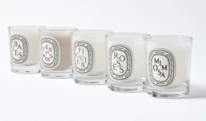 Diptyque Five Candle Set