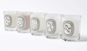 Diptyque Five Candle Set