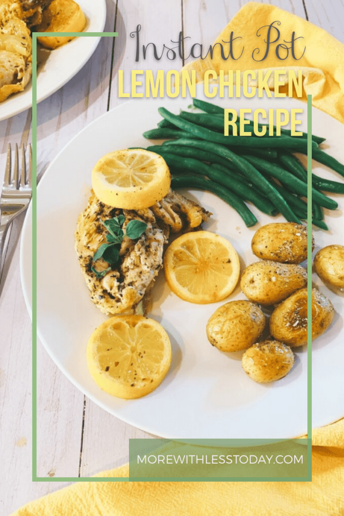 Instant Pot Lemon Chicken Recipe