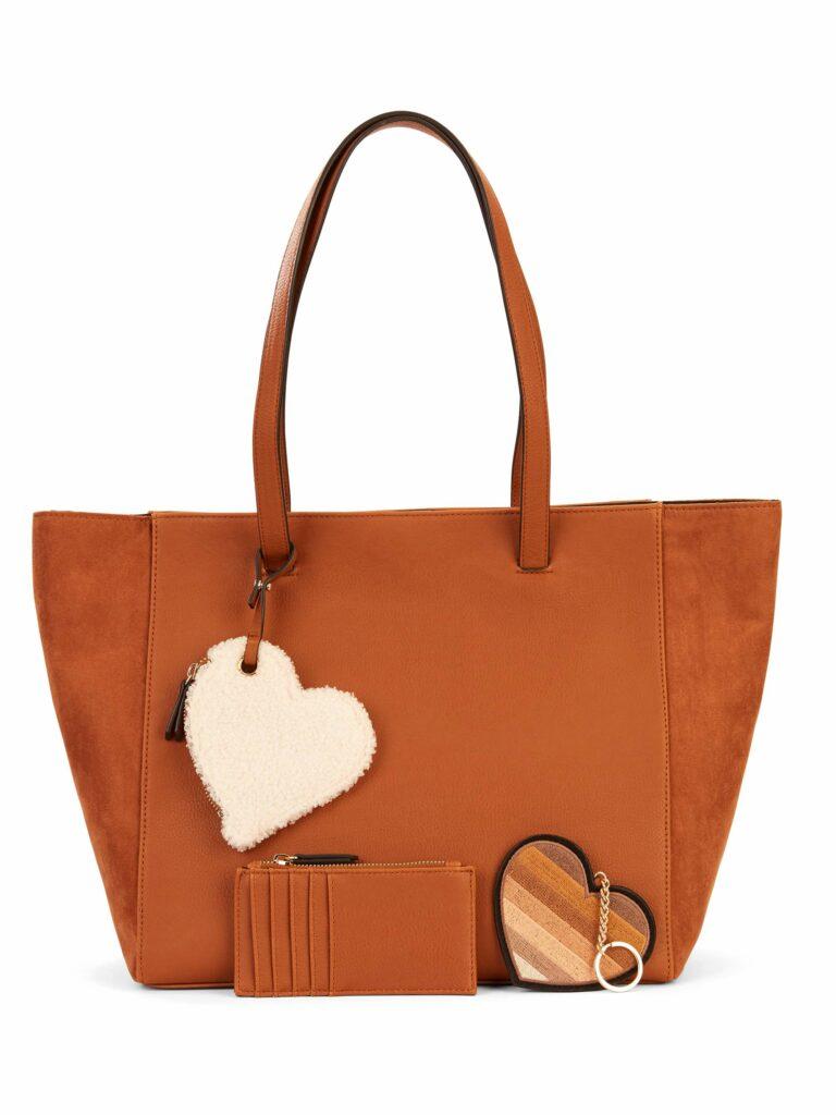 EV1 from Ellen DeGeneres Faux Suede Top-Handle Tote Bag