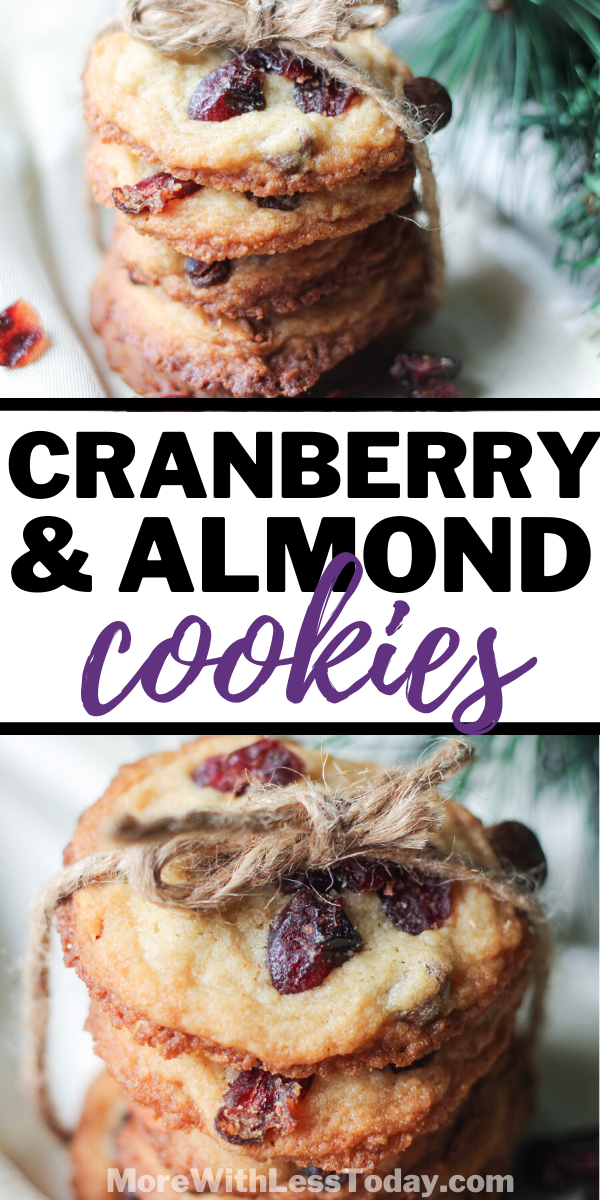 Cranberry and Almond Cookie recipe photos