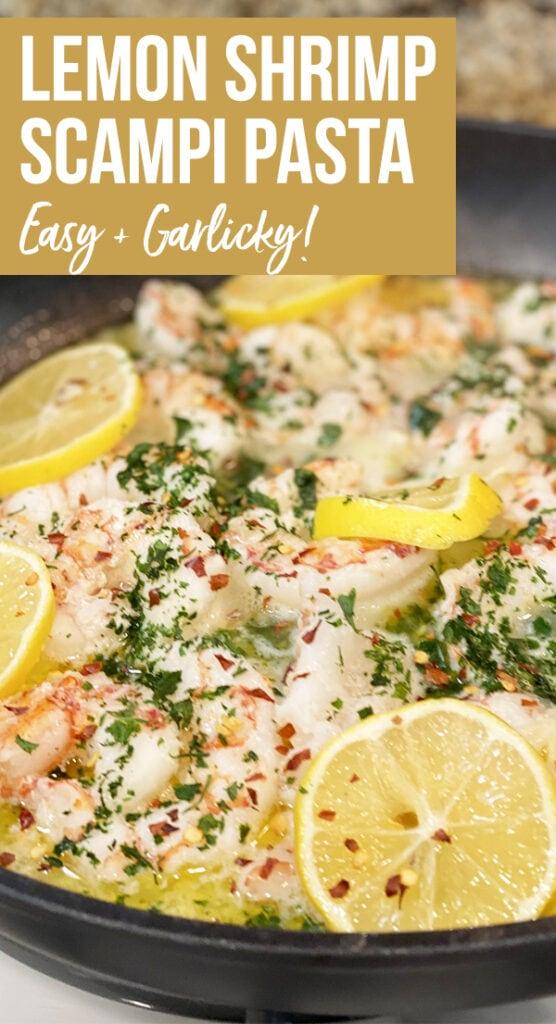 Lemon Shrimp Scampi Pasta recipe