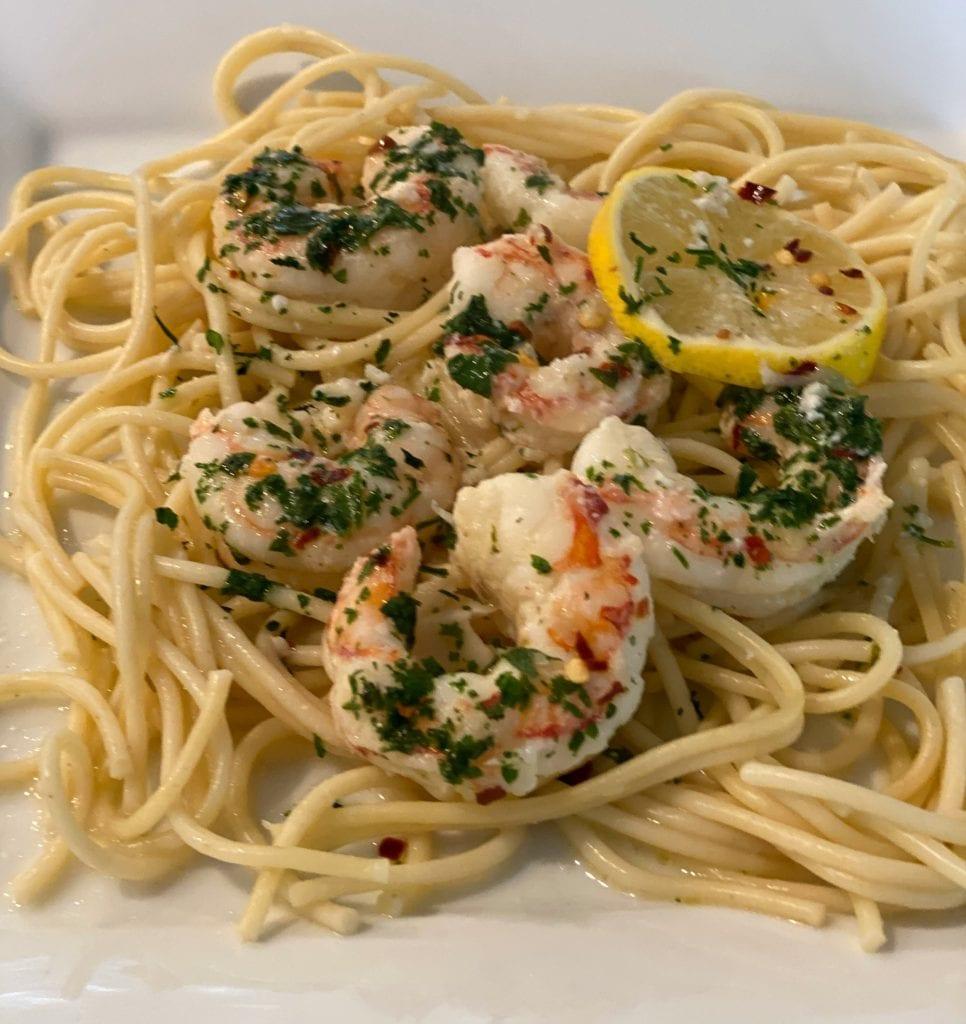 Lemon Shrimp Scampi Recipe