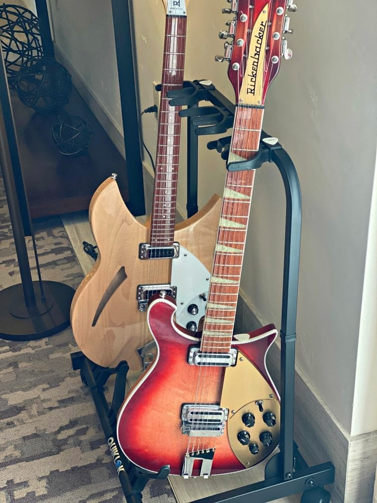 The Clement Hotel guitars