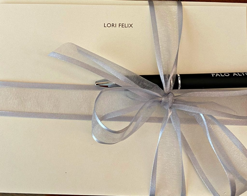 personalized stationary Clement Hotel