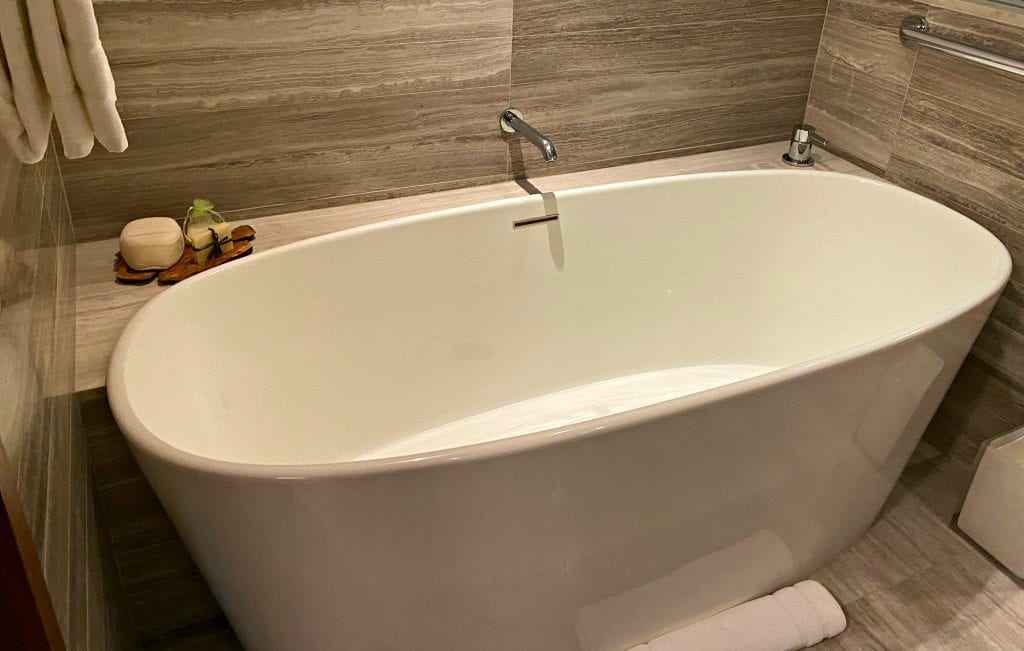 Clement Hotel tub