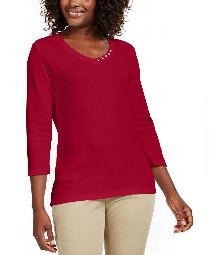 Macy's Under $10 Sale on Women;s Tops and Sweaters