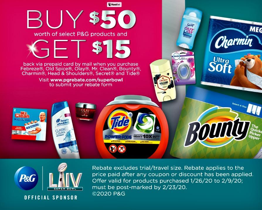 P&G Rebate offer