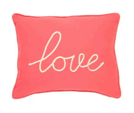 Love Throw Pillows from Target