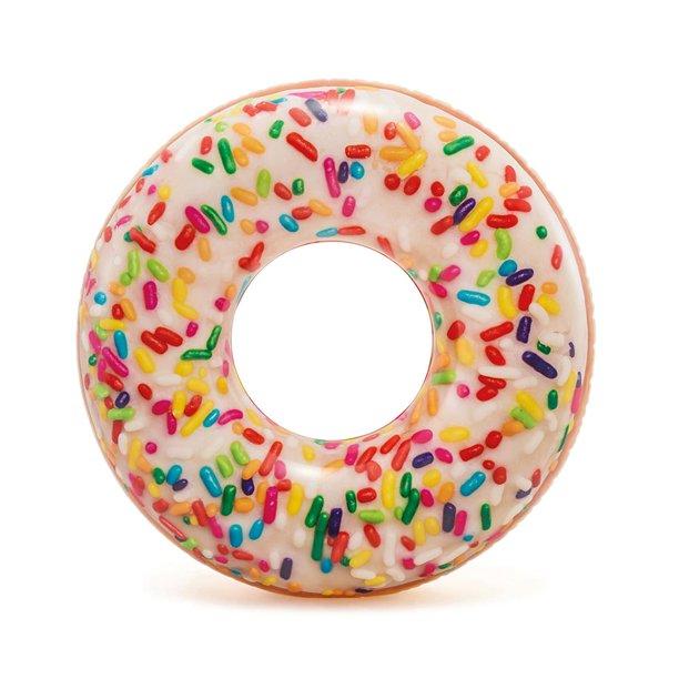 "Intex Inflatable Sprinkle Donut Pool Tube, 45"""