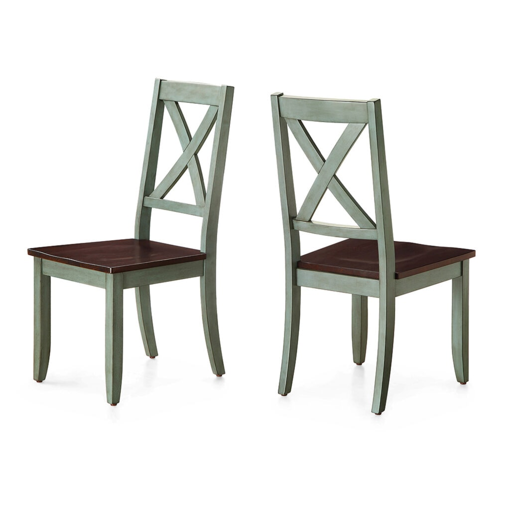 Better Homes & Gardens Maddox Crossing Dining Chairs, Antique Sage - set of two