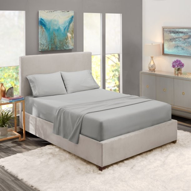 Deep Pocket 4 Piece Bed Sheet Set