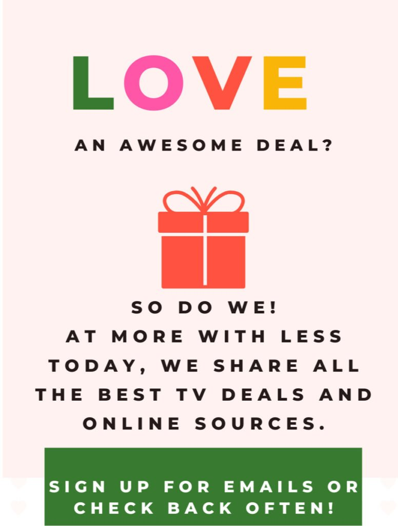 LOVE an awesome deal graphic