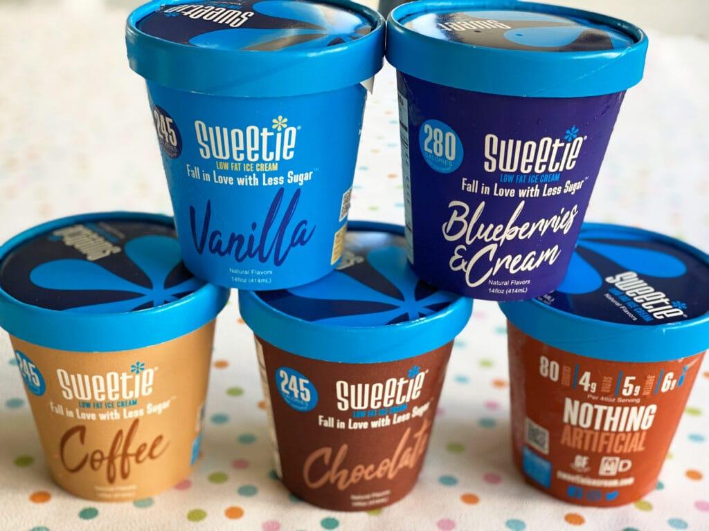 DOLCIA PRIMA Allulose Sweetie ice cream flavors