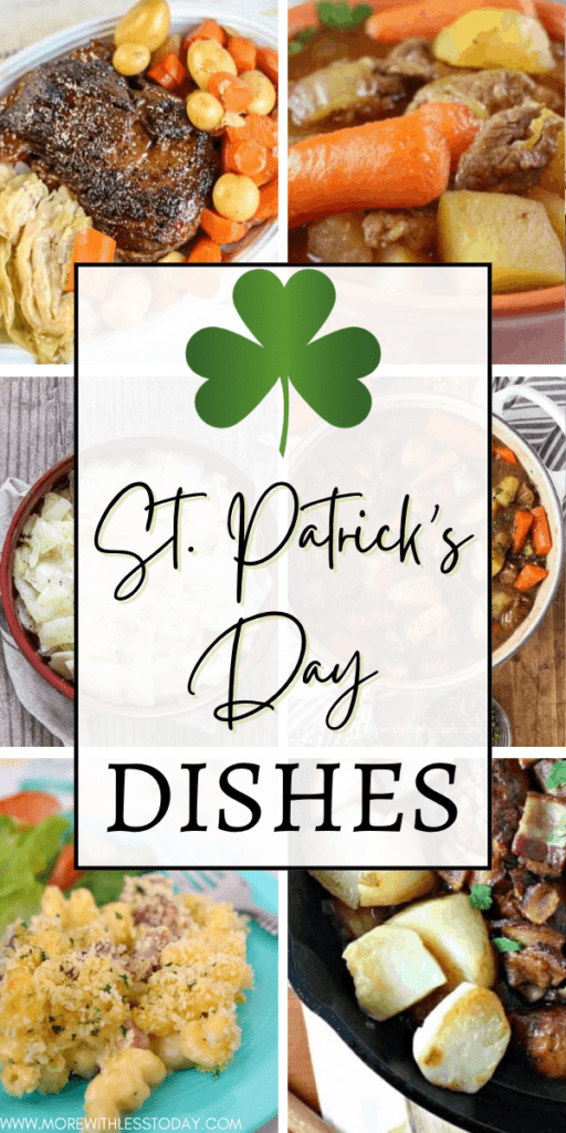 St. Patrick's Day Dishes - roundup of easy Irish-inspired recipes