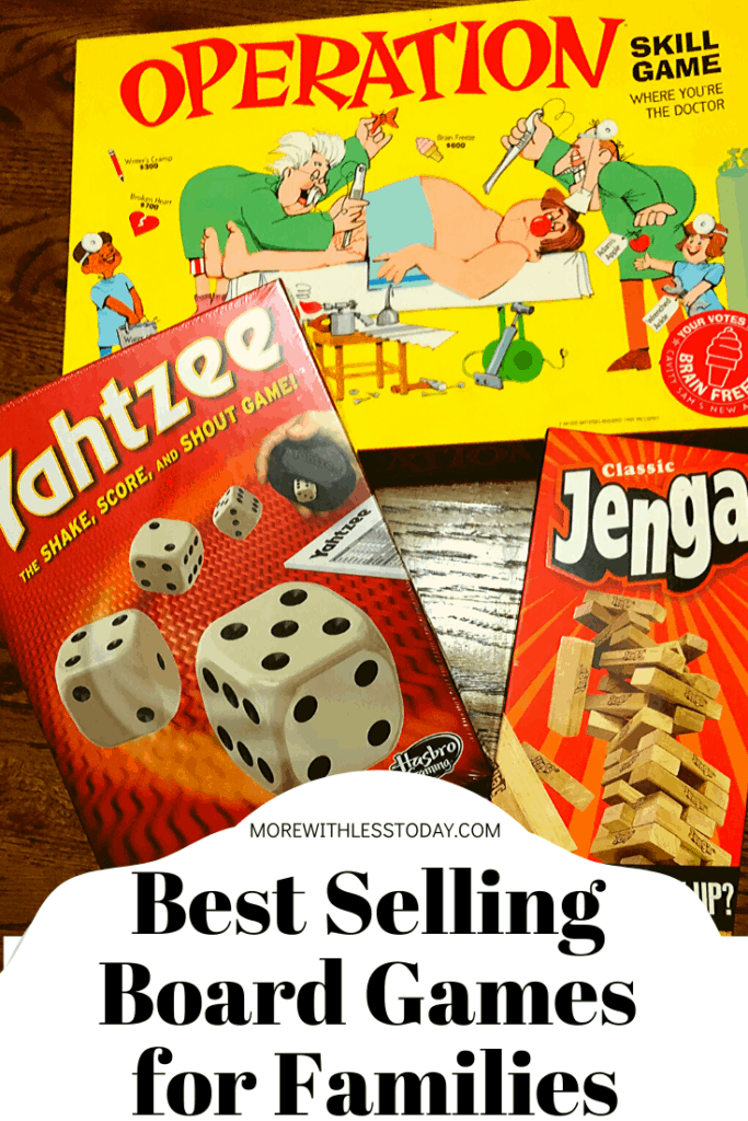 best selling board games for families. Enjoy some screen-free fun!