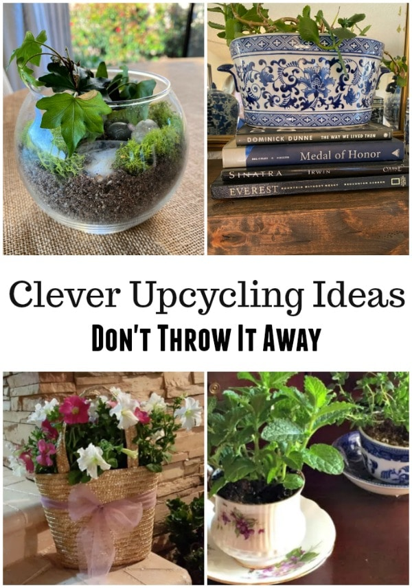 Clever upcycling ideas for every day household items #EarthDay #recycle #reuse