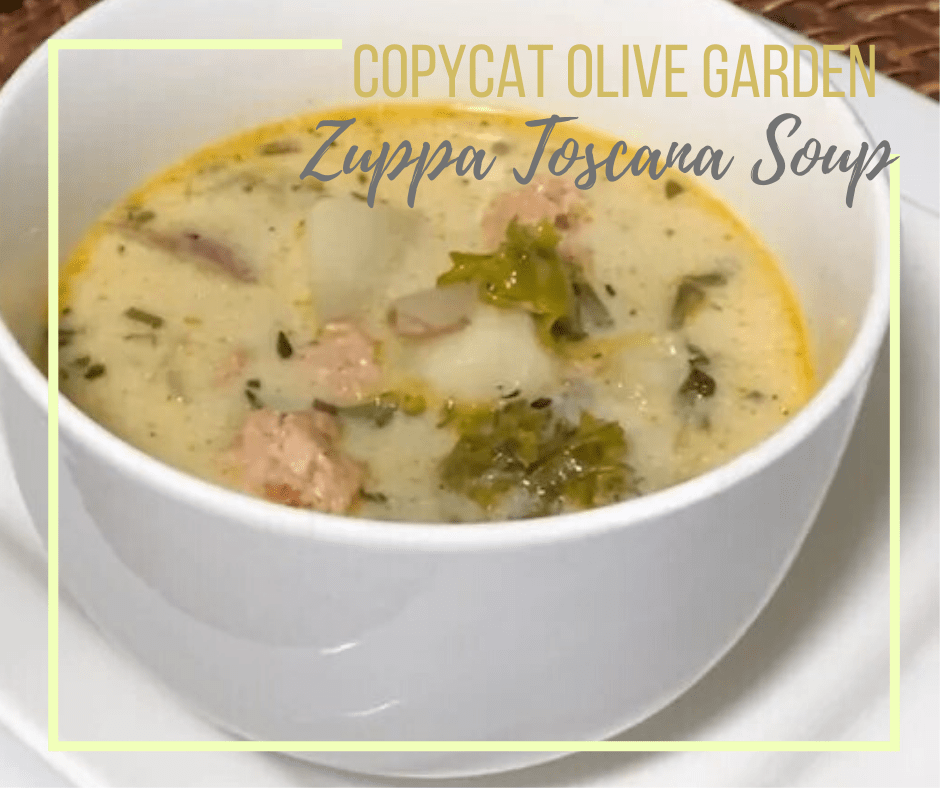Copycat Zuppa Toscana Soup Dairy Free But Just Like Olive Garden