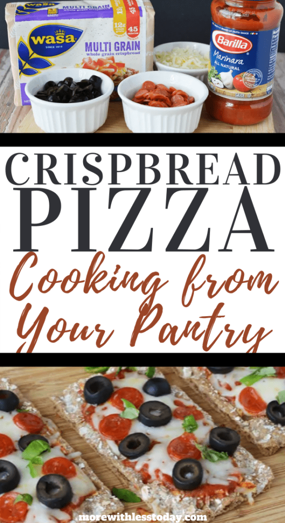 Crispbread Pizza Appetizers recipe
