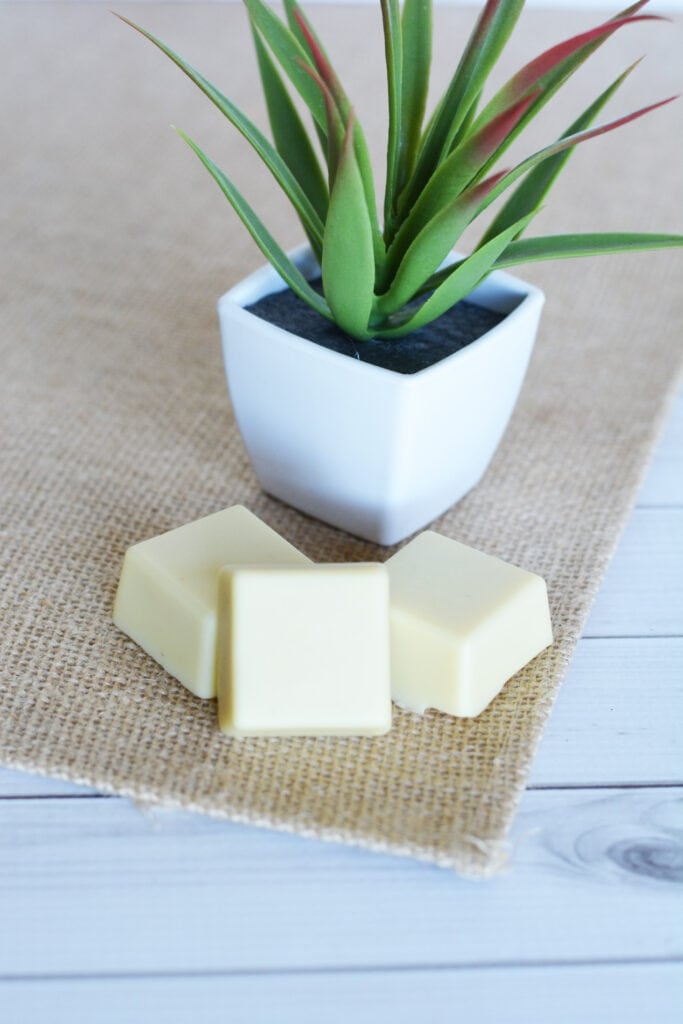 DIY Homemade Lotion Bars with Essential Oils