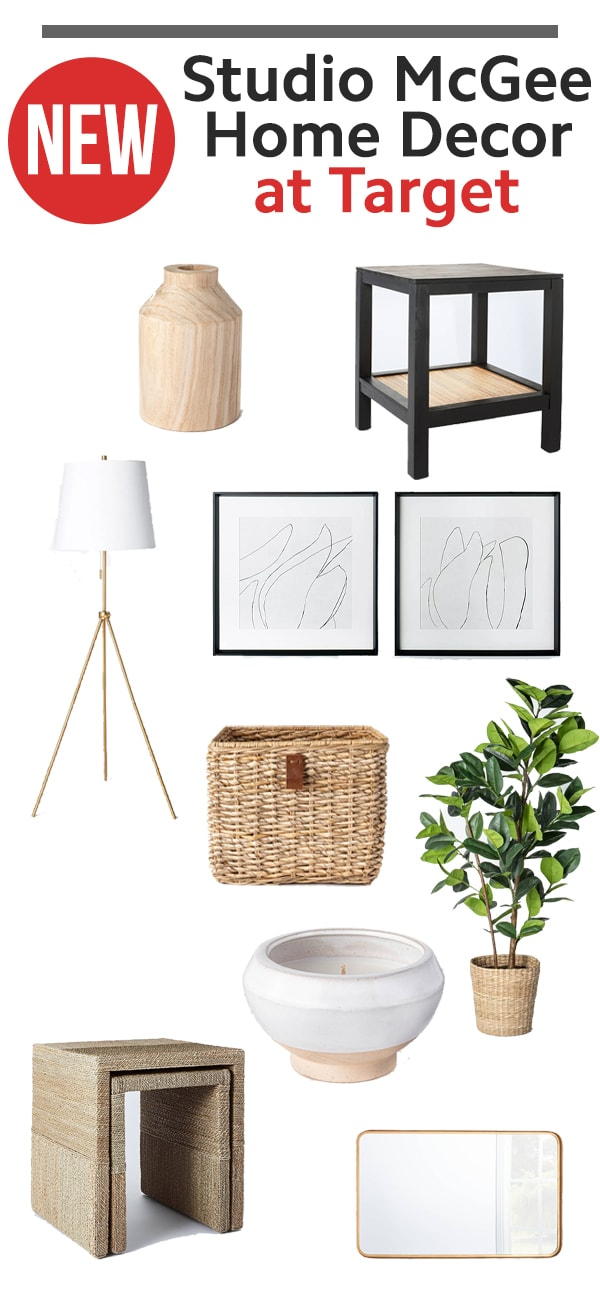 Studio McGee Home Collection at Target - collage of my favorite decor items