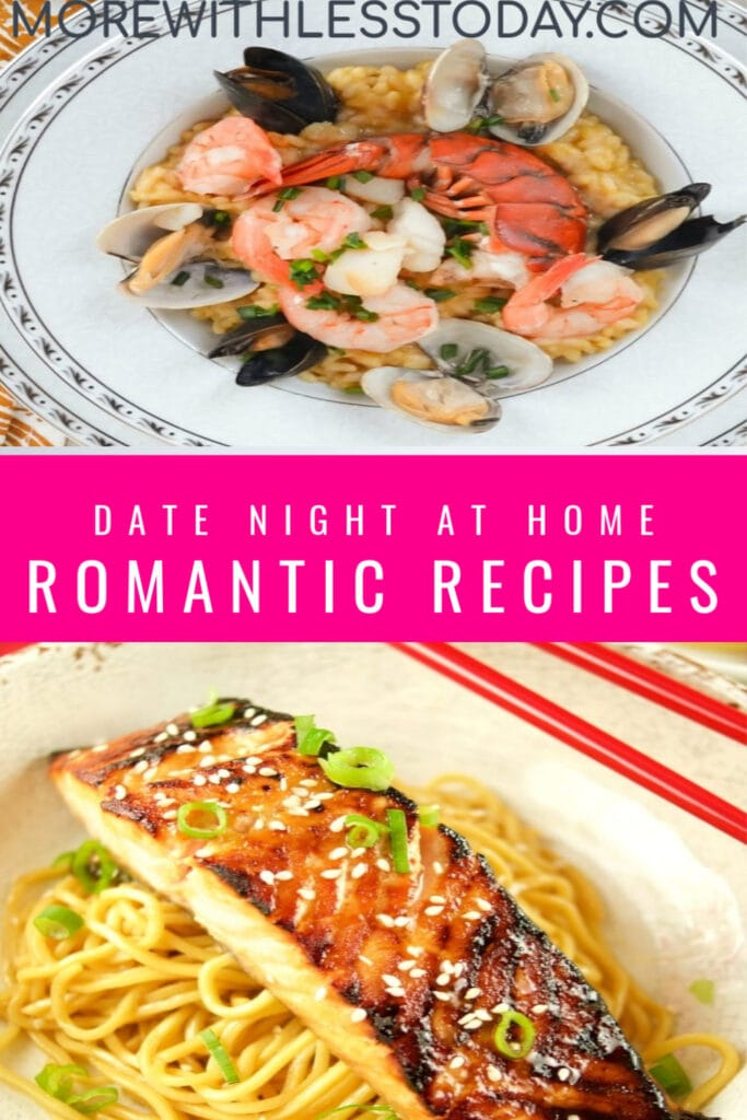 Romantic recipes for date night at home