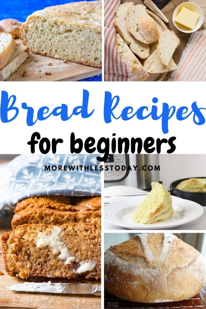 Enjoy these super easy homemade bread recipes for beginners.