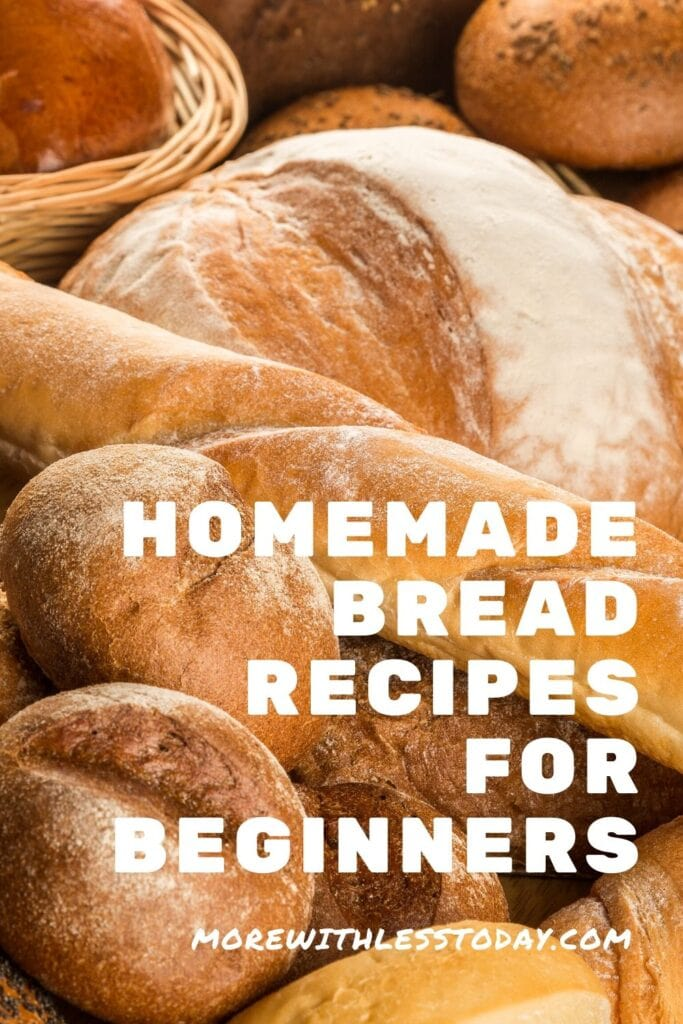 Homemade bread recipes for beginners