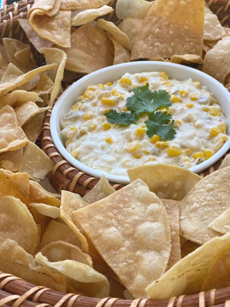 Corn Dip with LALA® Crema Mexicana recipe