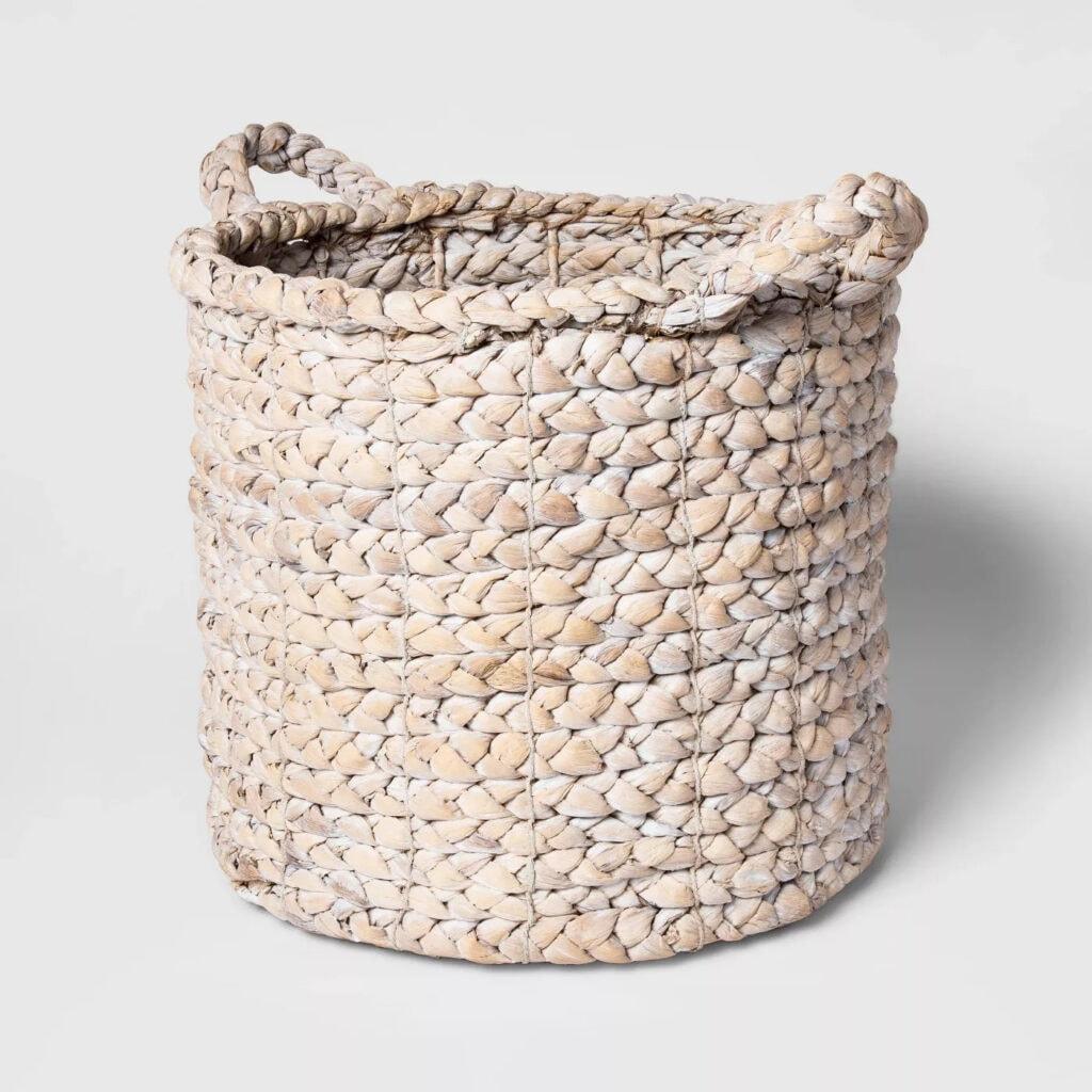"16""x14.5"" Decorative Basket White - Threshold™"