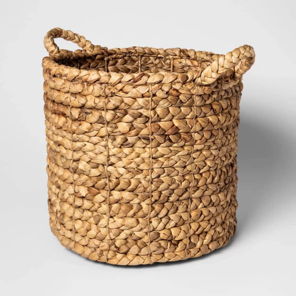 "16""x14.5"" Decorative Basket Natural - Threshold™"