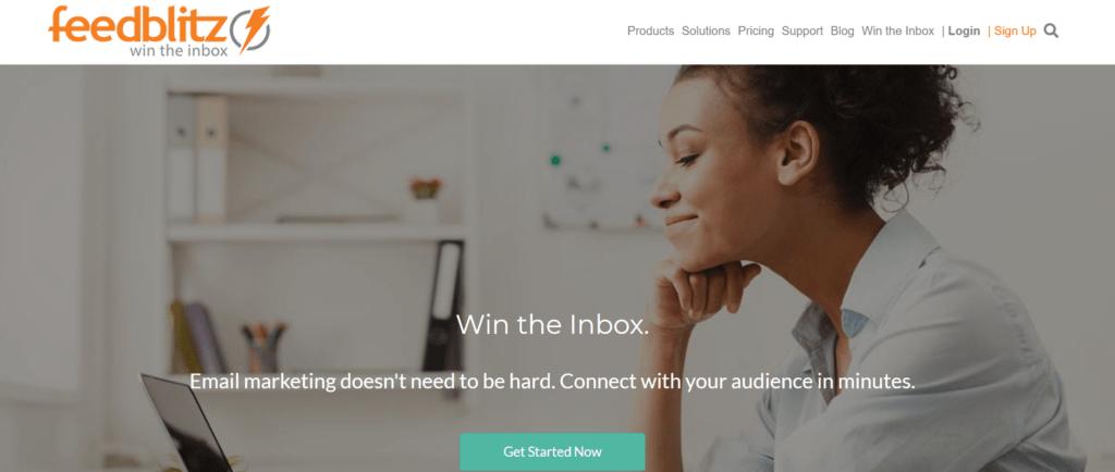 Feedblitz email newsletter provider