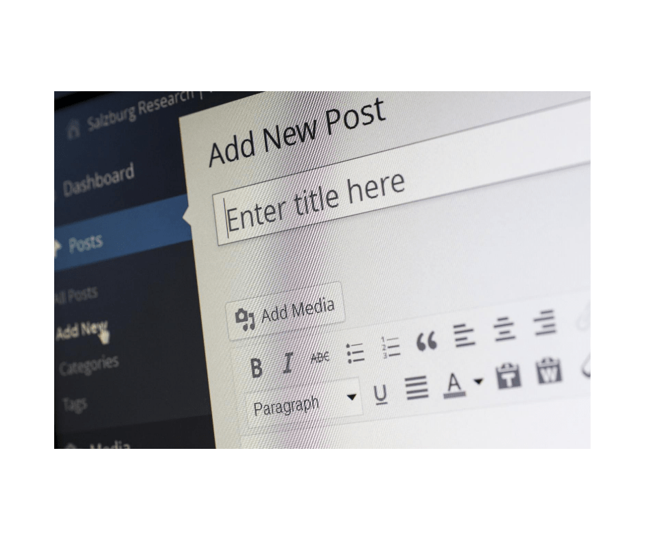 WordPress adding a new posts from How to Start a Blog