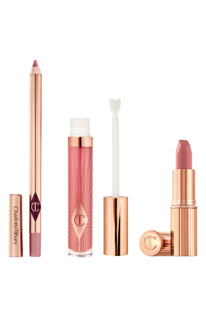 CHARLOTTE TILBURY Pillow Talk Lip Secrets Set Nordstrom Anniversary Sale