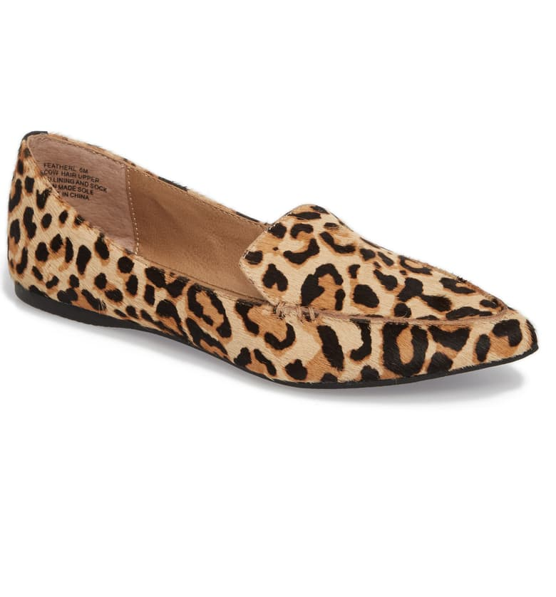 Steve Madden Feather Genuine Calf Hair Loafer Nordstrom Anniversary Sale