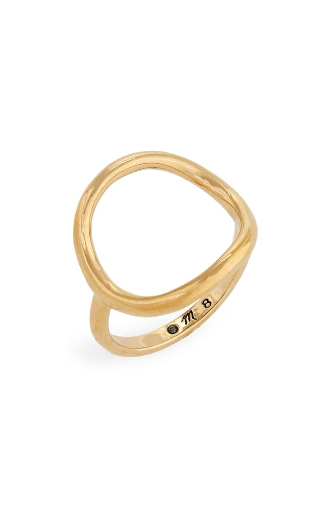 Madewell Ceremony Circle Ring Nordstrom Anniversary Sale