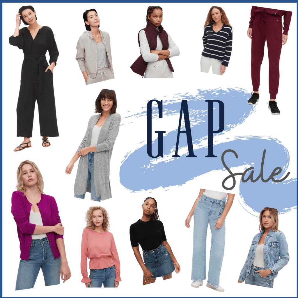 GAP Sale collage