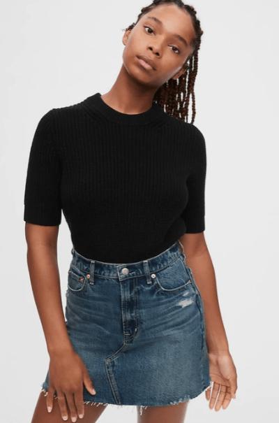 GAP Ribbed T-Shirt Sweater