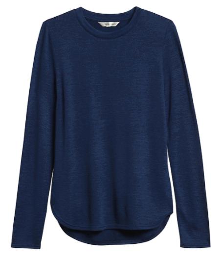 Luxespun Long-Sleeve T-Shirt.