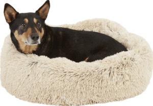 Best Friends by Sheri The Original Calming Shag Vegan Fur Donut Cuddler Cat & Dog Bed
