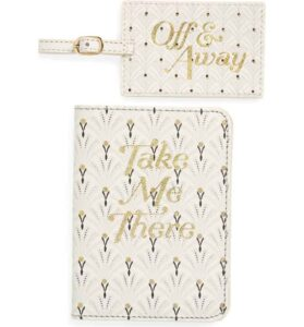 Passport & Luggage Tag Set from Anthropologie Home