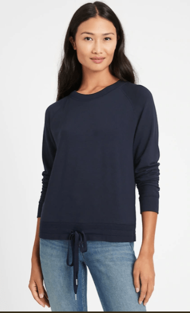 Baby Terry Cropped Sweatshirt