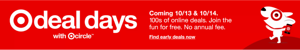 Target Deal Days graphic