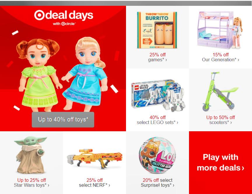 Target Deal Days banner
