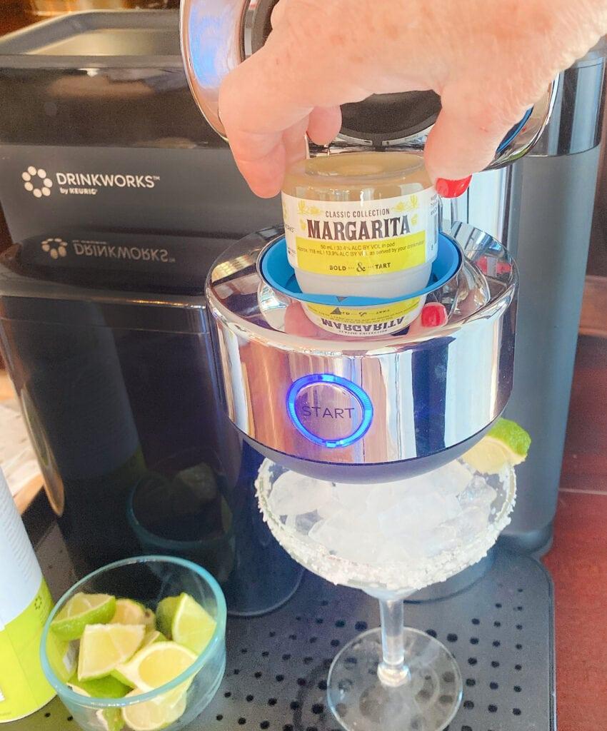 adding a Margaita Pod Drinkworks by Keurig