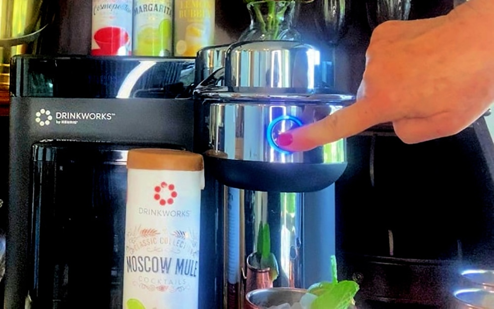 Press Play date night at home with Drinkworks by Keurig