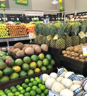 fresh produce in a Smart & Final store