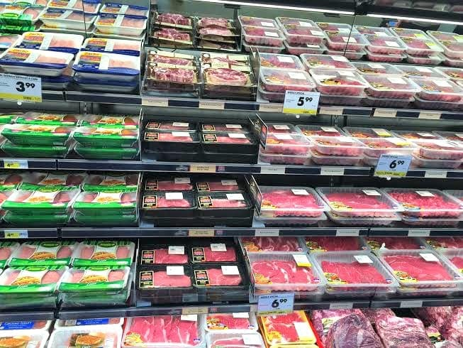 fresh meat found in a Smart & Final store