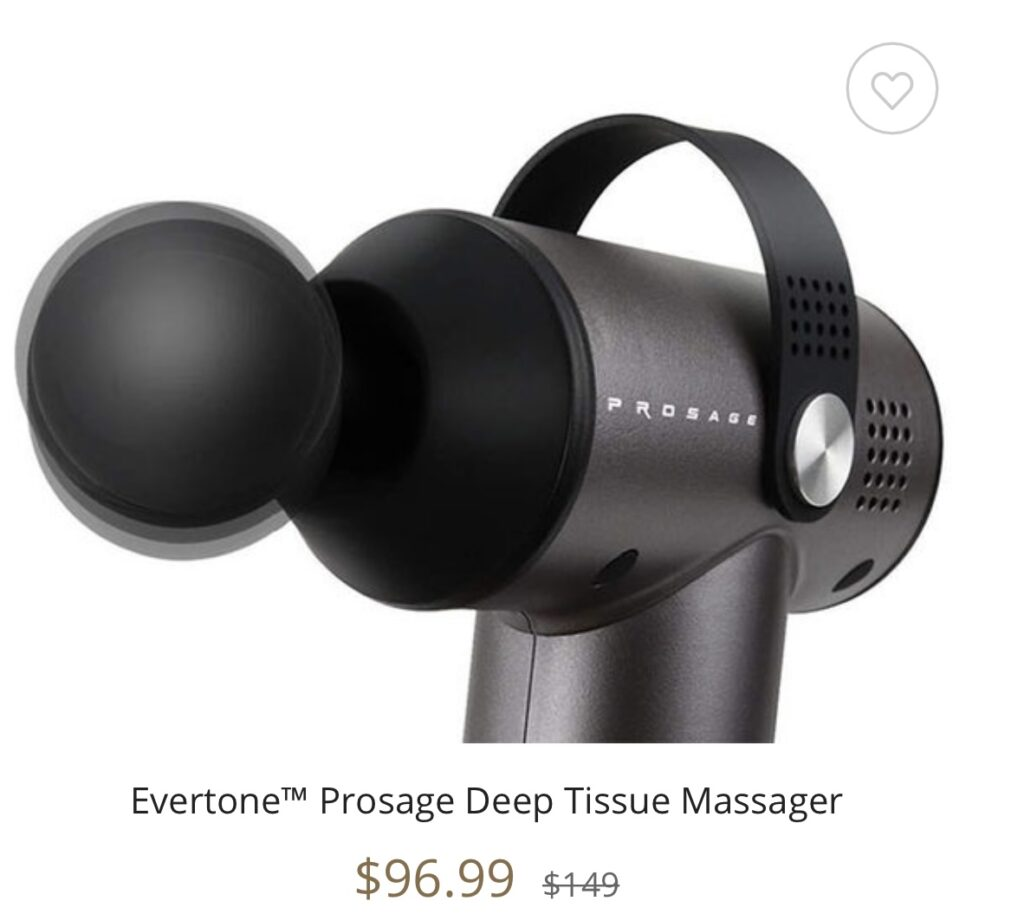 Evertone™ Prosage Deep Tissue Massager seen on the Kelly Clarkson Show