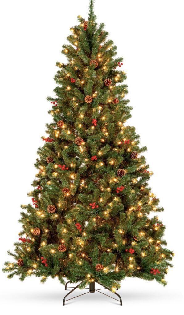 Christmas tree on clearance at Walmart